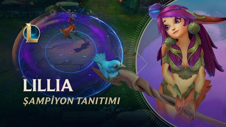 League of Legends'ın yeni ormancısı Lillia çıktı
