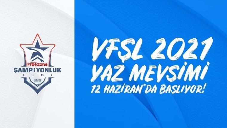 League of Legends VFŞL Yaz Mevsimi için geri sayım başladı