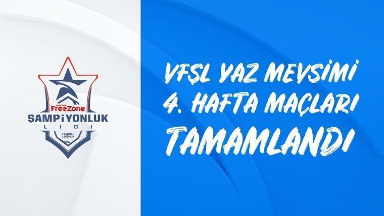 VFŞL 4.haftasında zirvenin tek sahibi Galatasaray eSpor