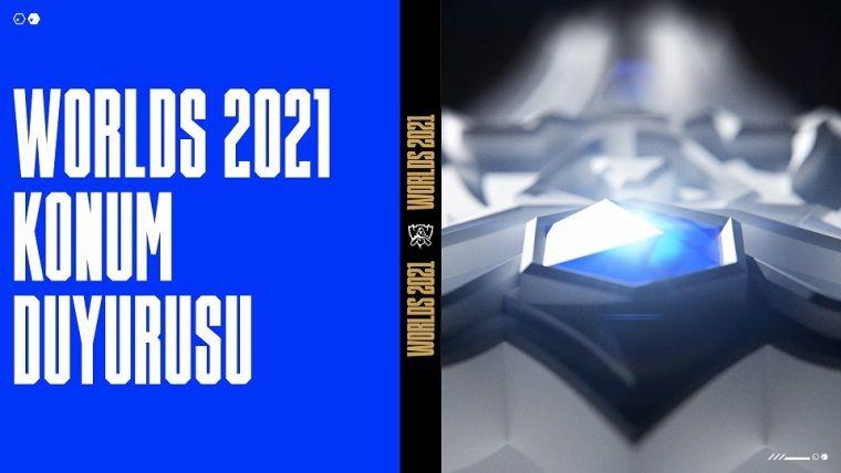 LoL 2021 Dünya Şampiyonası İzlanda Reykjavik'te gerçekleşecek