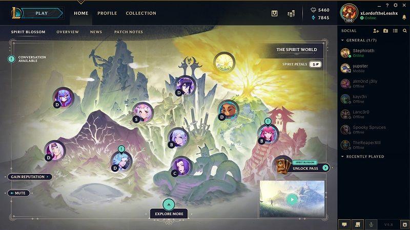 League of Legends Ruh Çiçeği etkinlikleri başladı