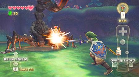 The Legend of Zelda: Skyward Sword bekletecek