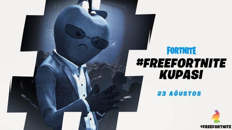 Epic Games, Apple karşıtı #FreeFortnite kupası düzenliyor
