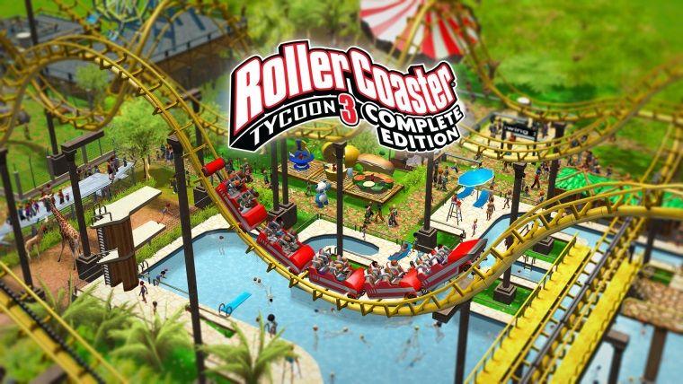 RollerCoaster Tycoon 3: Complete Edition, Epic Store'da ücretsiz