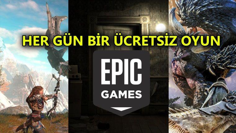 Epic Games ücretsiz oyunları sızdırıldı, her gün bir oyun!
