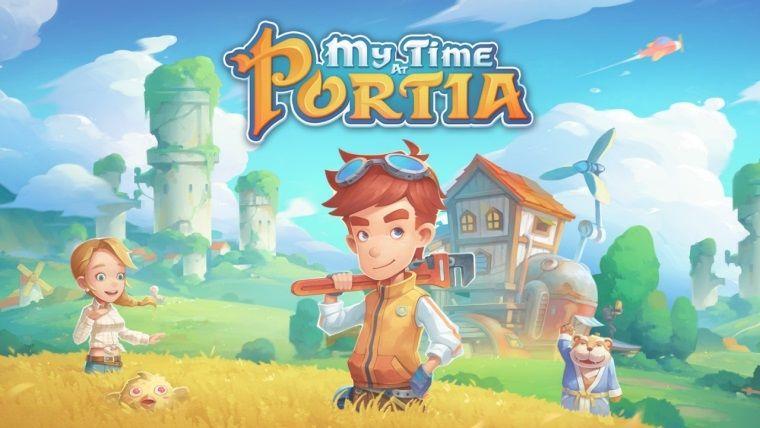 My Time At Portia Ara, Epic Store'da ücretsiz