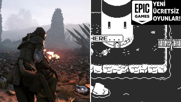 Toplam 268 TL değerindeki iki oyunu Epic Games ücretsiz dağıtıyor