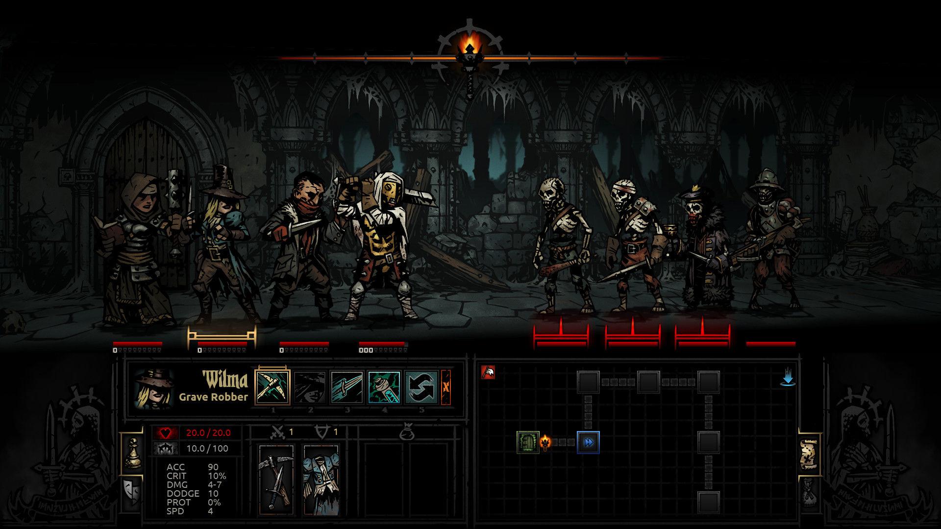 Darkest Dungeon, Epic Store'da ücretsiz