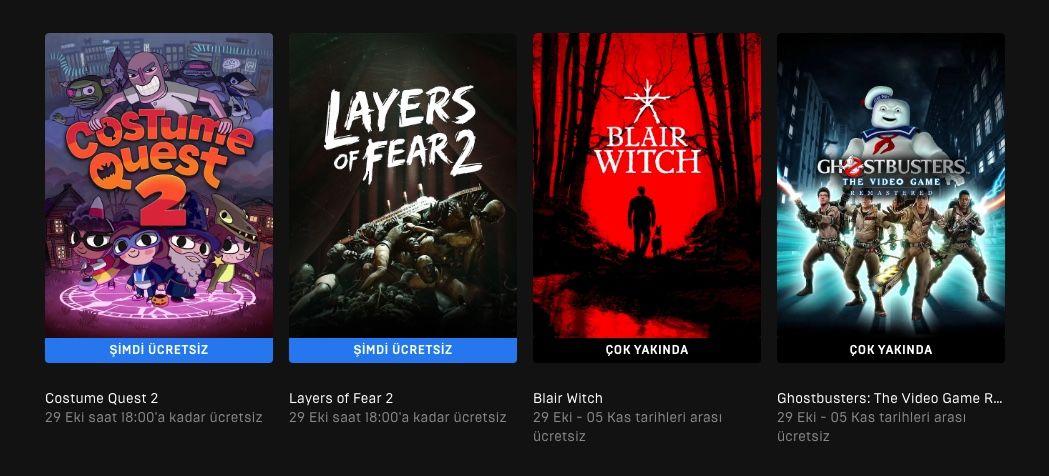Costume Quest 2 ve Layers of Fear 2 Epic Store'da ücretsiz