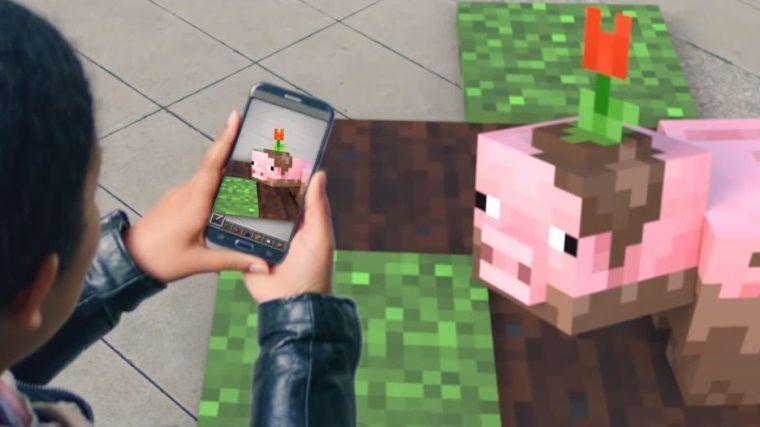 Cep telefonları için Pokemon GO tarzı Minecraft oyunu geliyor
