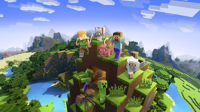 Minecraft, bu yılın Youtube'da en çok izlenen oyunu oldu
