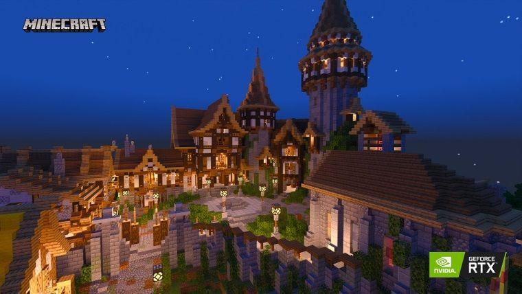 NVidia, Minecraft RTX sürümü için 5 yeni dünya yayınladı