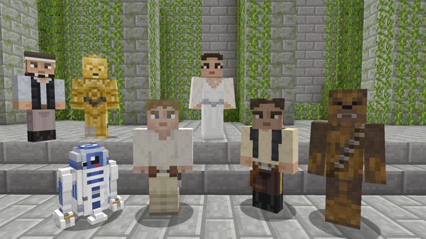 Minecraft Star Wars DLC'si efsane karakterleri konsolunuza getiriyor