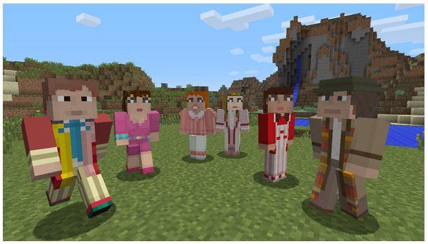 Minecraft'a, sadece Xbox için Doctor Who eklenti paketi geliyor
