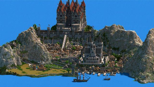 4.5 Yılda yapılan Minecraft haritası muazzam gözüküyor!