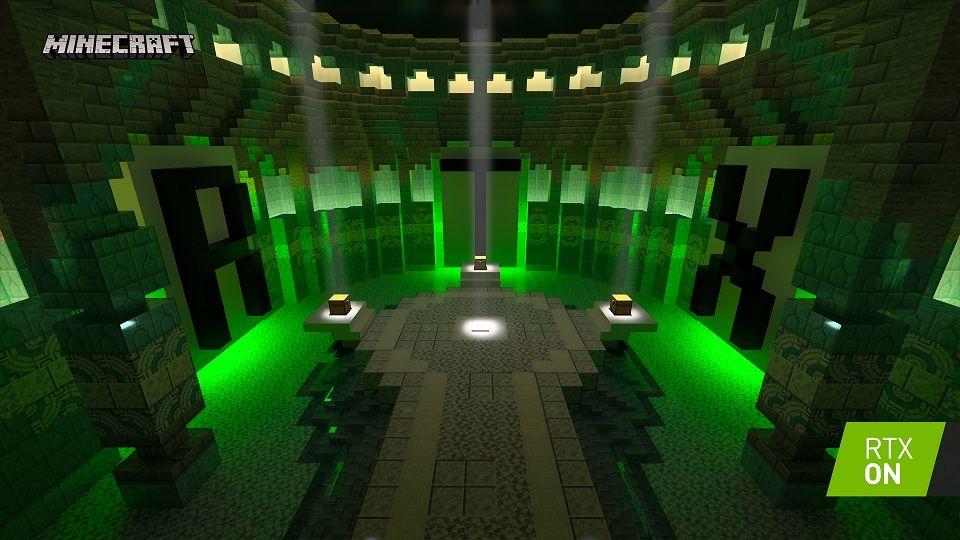Işın İzleme ve DLSS 2.0 destekli Minecraft betası 16 Nisan'da başlıyor