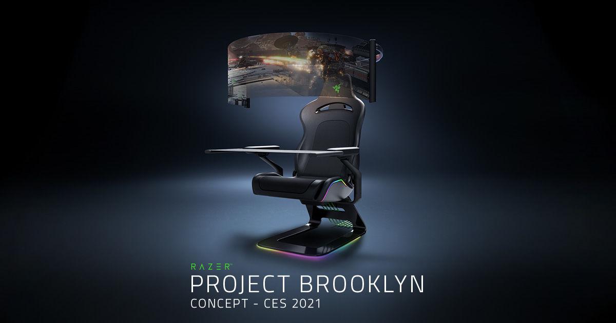 Razer akıllı maske ve oyuncu koltuğu tasarımlarını gösterdi