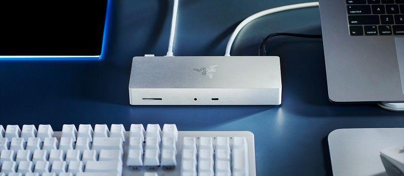 Razer Thunderbolt 4 dock ve USB-C Gan şarj cihazı çıktı