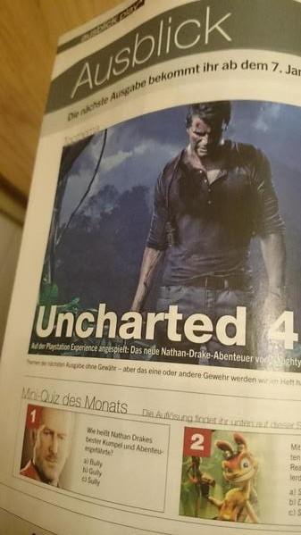 Uncharted 4, PlayStation Experience etkinliğinde oynanacak iddiası!