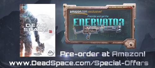 """Dead Space 3 """"Enervator"""" silahı"""