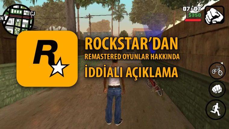 Rockstar Games patronu, remastered oyunlar hakkında konuştu