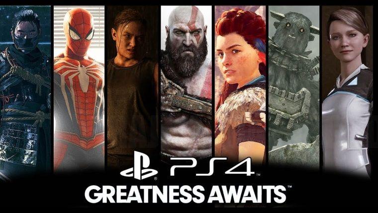 PlayStation 4'ün 2018 oyunları için muazzam bir video yayınlandı