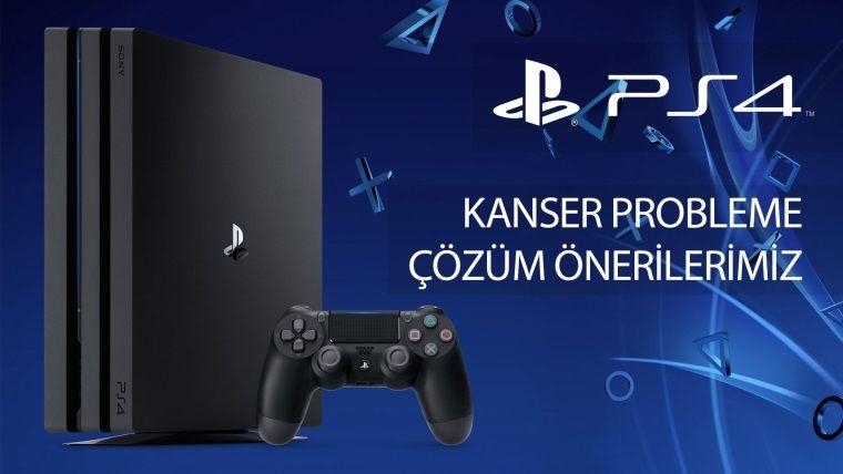 PlayStation 4 Pro'nuz Siyah Ekranda Takılıp Kalıyor Açılmıyorsa