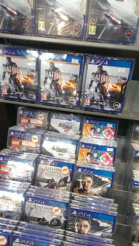 PS4 Oyunları kaça satılıyor?