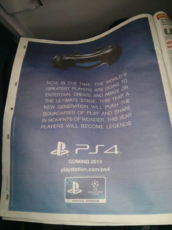 2013 yılı bitmeden PS4 dünyanın pek çok yerinde olacak (Görsel)