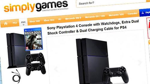 İngiliz perkandeci PS4 ön siparişlerini rehin aldı