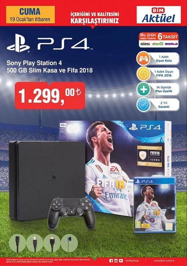 BİM'in PlayStation 4 satışları başladı
