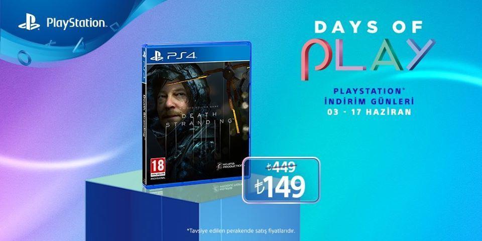 Playstation Days of Play indirimleri başlıyor