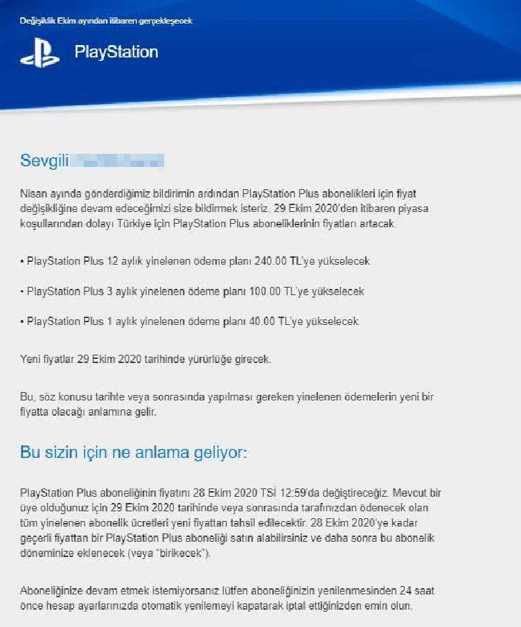PlayStation Plus fiyatlarına korkunç zam yolda!