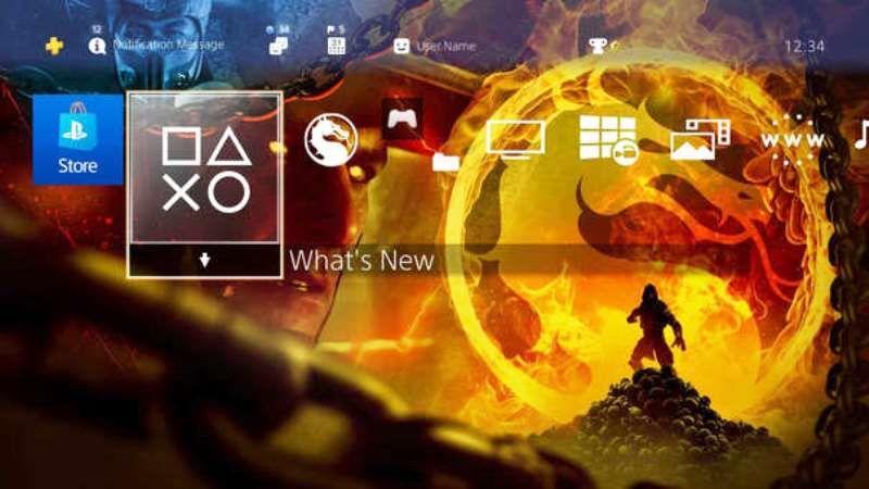 Playstation 4 için bedava Mortal Kombat 11 teması yayınlandı