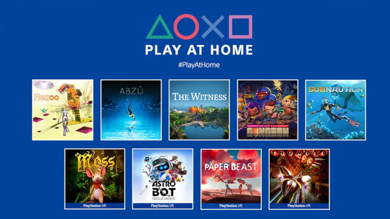 Sony announces that it will distribute 10 free games for PlayStation