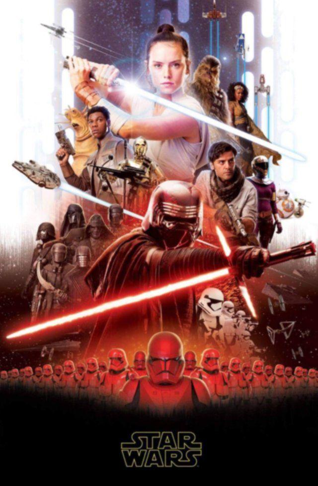 Hayran çalışması Star Wars posteri dikkatleri üzerine çekti