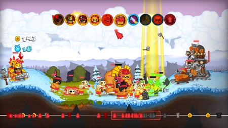 Swords & Soldiers, 3DS yolcusu!