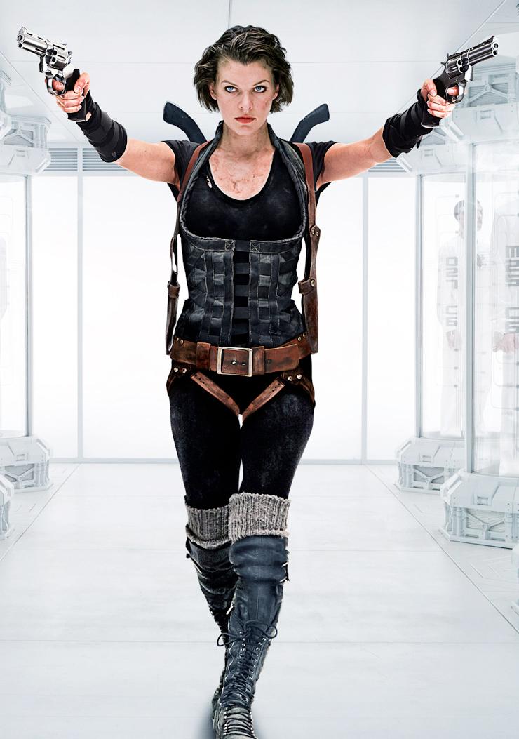 Yine Milla Jovovich, yine Resident Evil