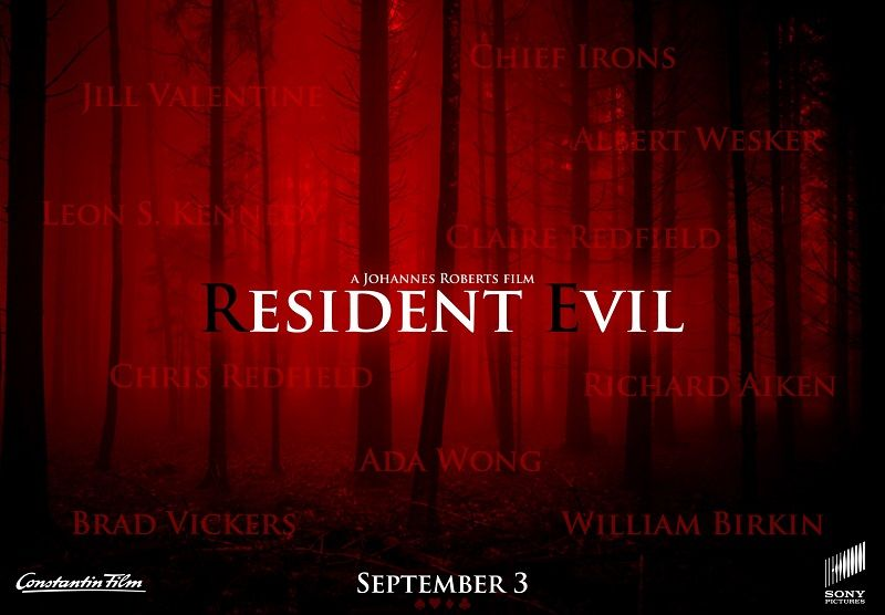The first poster of the new Resident Evil movie arrives