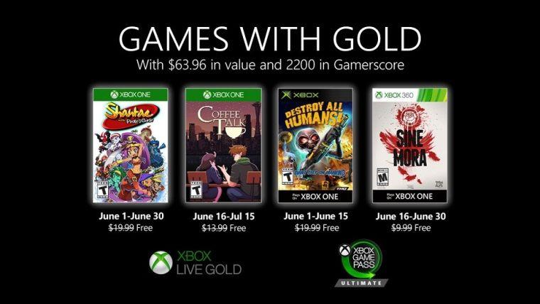 Xbox Live Gold Haziran 2020 ücretsiz oyunları açıklandı