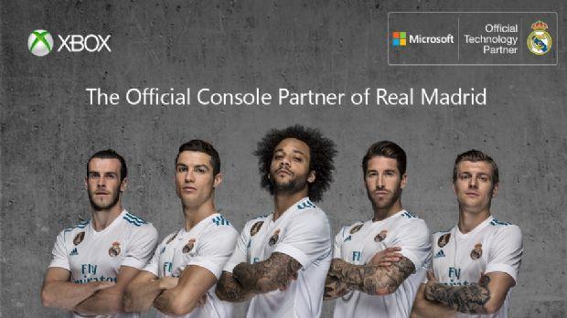 Xbox, Real Madrid'in resmi konsol partneri oldu