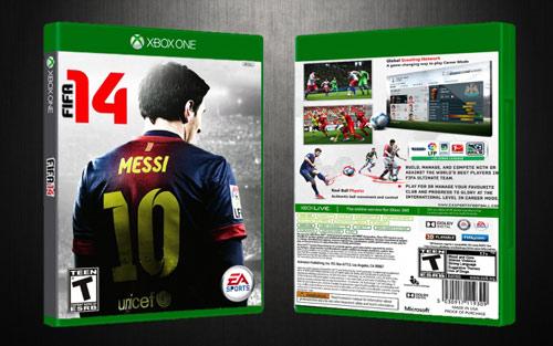 Xbox One ile birlikte ücretsiz FIFA 14'e ulaşın!