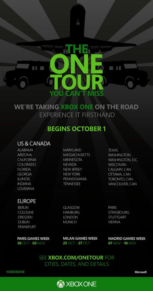 Xbox One turneye çıkıyor!