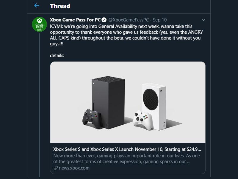 Xbox Game Pass PC fiyatı 17 Eylül'de artacak