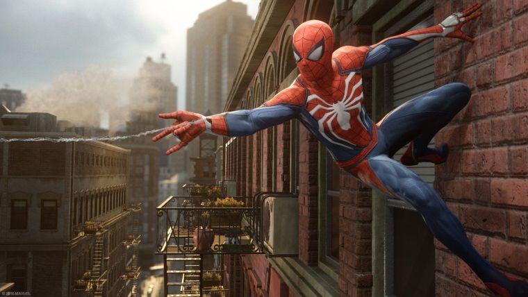 PlayStation 4'ün özel oyunu Spider - Man'den yeni video geldi