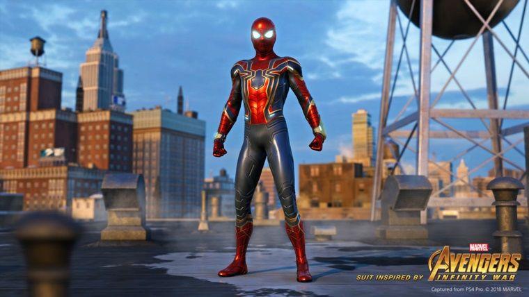 Spider-Man'in Infinity War filmindeki kostümü oyuna da geliyor!