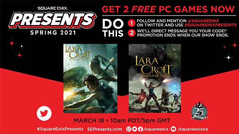 Square Enix distributes two Lara Croft games for free