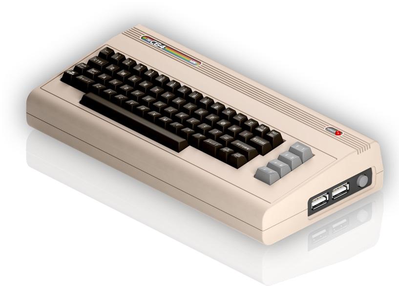 Commodore 64 Mini Konsol duyuruldu!