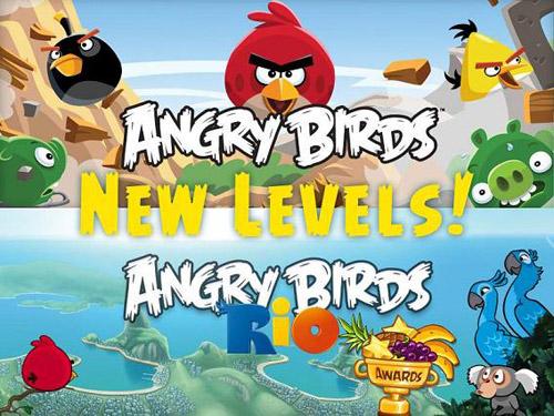 Angry Birds Rio'ya yeni bölümler geliyor!