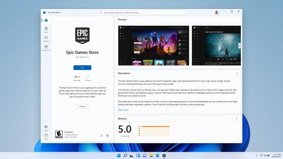 Microsoft Store Epic Games